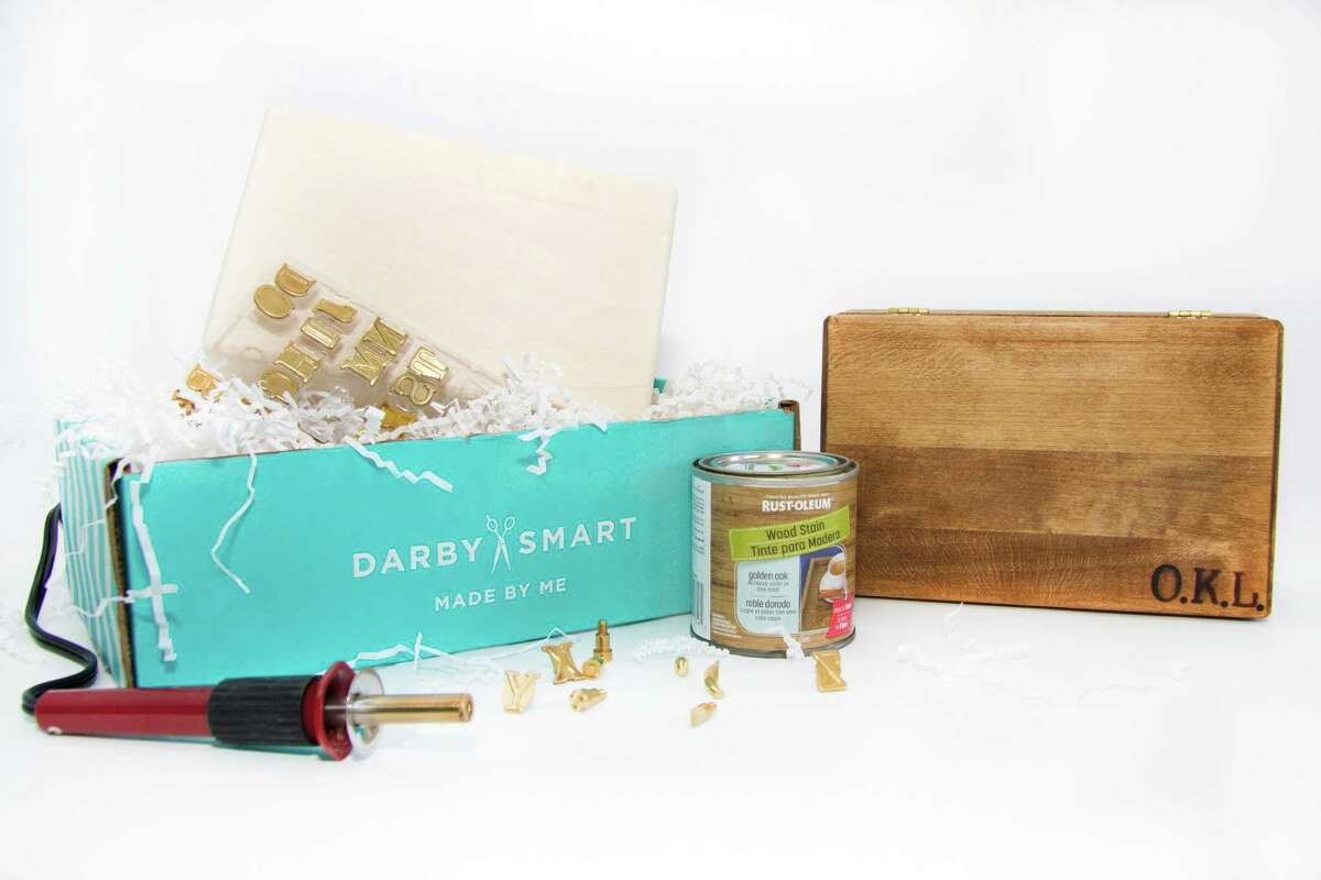 Darby Smart's Wood Burning box kit (similar to shown, $42) will be available at select Urban Outfitters retailers nationwide and at www.urbanoutfitters.com