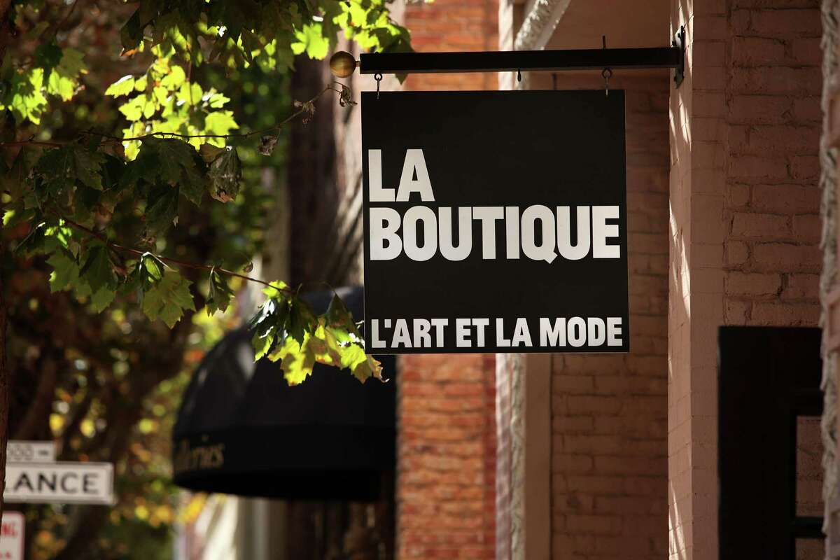 La Boutique in the Jackson Square area of S.F., carries clothing designers Firma, Won Hundred, Collection 66 and Athé Vanessa Bruno.