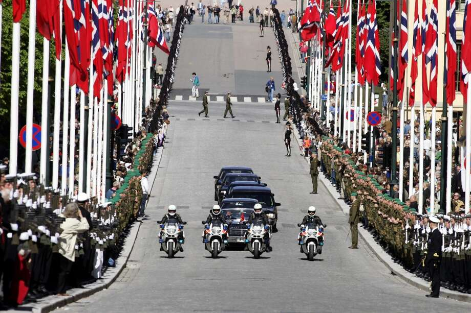Most Expensive Norway, $9.26 per gallon Photo: HEIKO JUNGE, AP