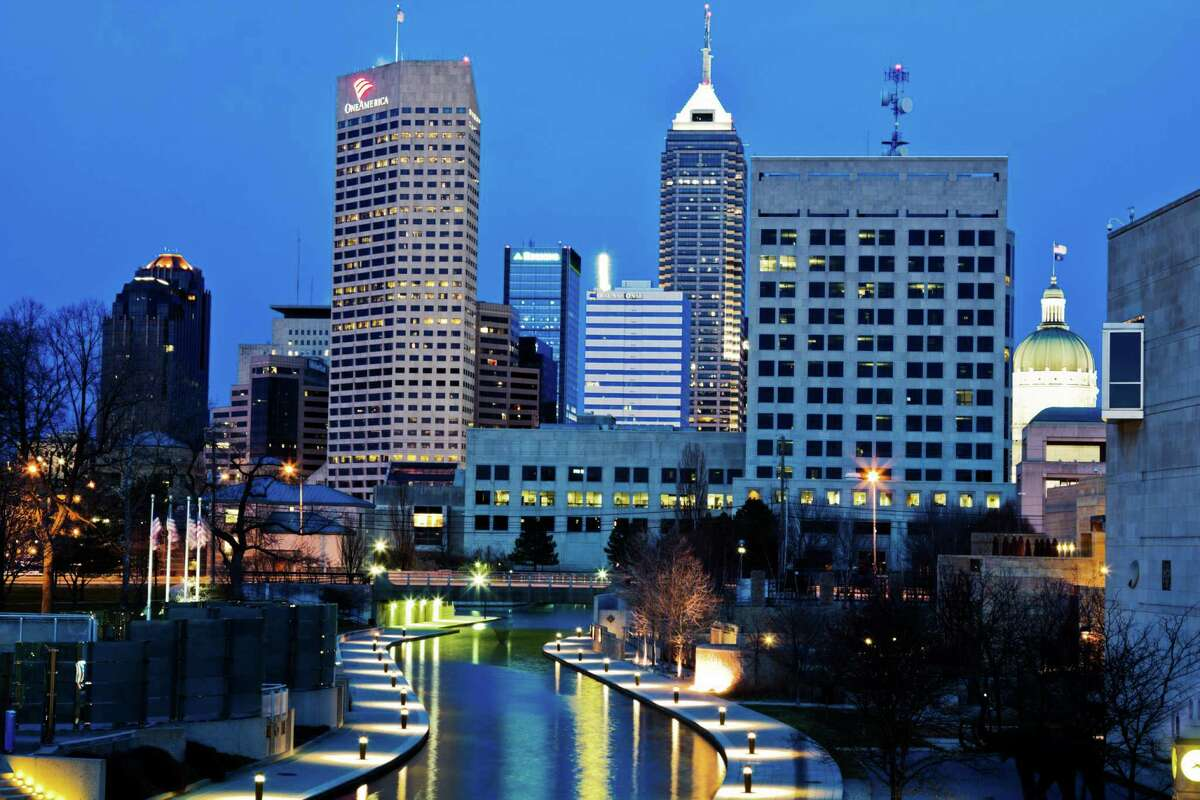 No. 3: Indianapolis, IN Overall score: 86 Residents who get 7+ hours of sleep: 43% Residents who get good quality sleep: 52% Residents who live in a peaceful environment: 85%