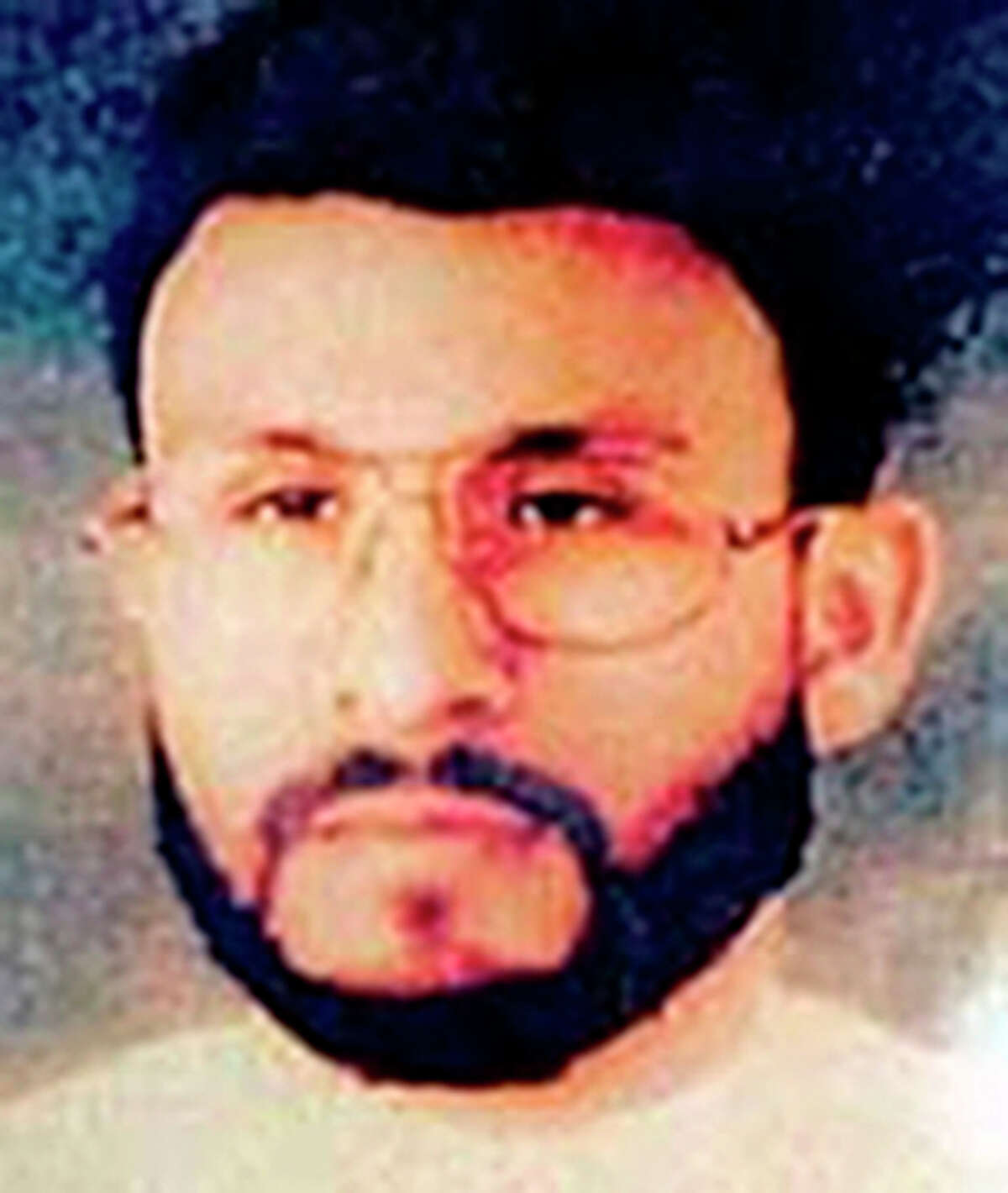 This undated file photo provided by U.S. Central Command, shows Abu Zubaydah, date and location unknown. Zubaydah was the CIA's guinea pig. He was the first high-profile al Qaida terror suspect captured after the Sept. 11 attacks and the first to vanish into the spy agency's secret prisons, the first subjected to grinding white noise and sleep deprivation tactics and the first to gasp under the simulated drowning of waterboarding. Zubaydah's stark ordeal became the CIA's blueprint for the brutal treatment of terror suspects, according to the Senate Intelligence Committee's report released Tuesday.