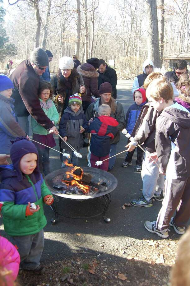 S'mores are expected to end the Winter Solstice Celebration at the Stamford Museum and Nature Center, which is set to take place on Sunday, Dec. 21, 2014, in Stamford, Conn. In addition to the treats, staff will help guide families through the site to learn how some of its resident animals are getting ready for winter, as well as offer a planetarium show on winter's constellations. Photo: Contributed Photo / Stamford Advocate Contributed photo