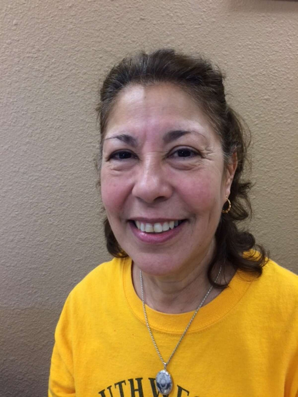 For the past three years, retiree Angelina Guevara, 65, has volunteered at the Daughters of Charity Services to help neighbors from her South Side community.