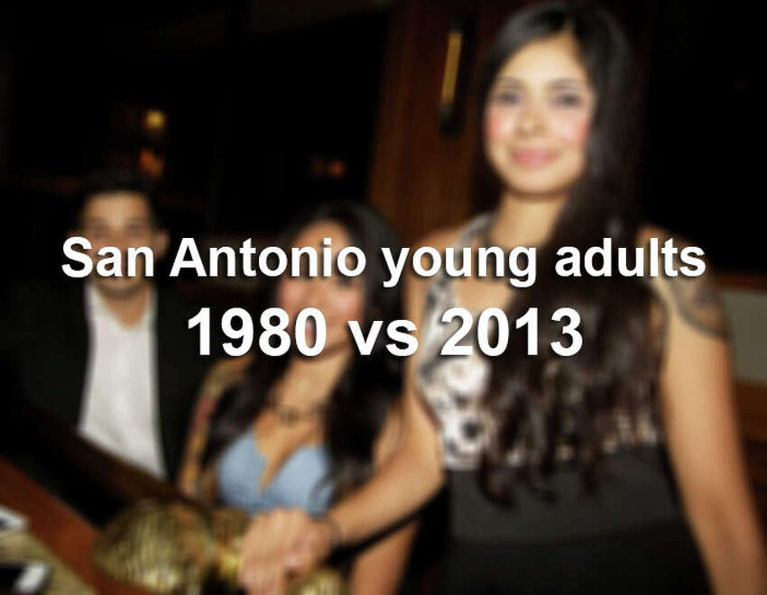Click through to see how the young adult population has changed in San Antonio from 1980 to 2013.