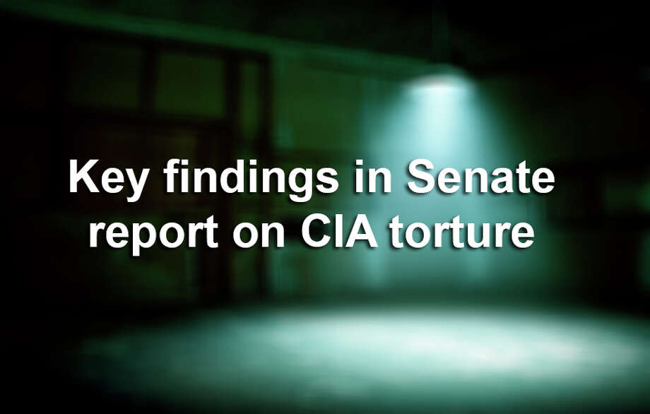 Some of the more damning findings in the probe of the CIA's post-911 torture techniques. Photo: Amy Guip, Getty Images / (c) Amy Guip