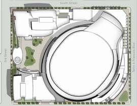 Original design of Golden State Warriors planned Mission Bay arena had critics saying it resembled a toilet.