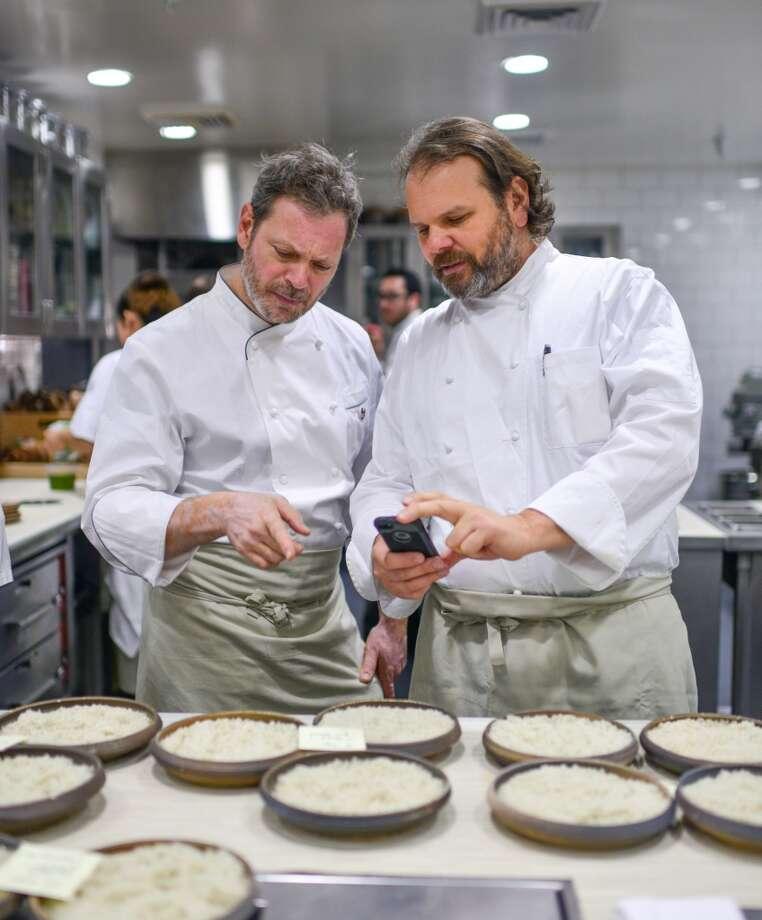 Frank Falcinelli and Frank Castranovo. Photo: Bonjwing Lee Photography