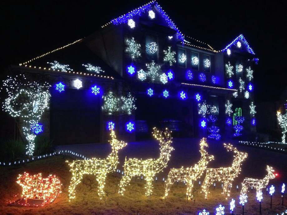 John Storms has made a hobby out of planning the Christmas lights for his Austin home. Photo: Courtesy Photo