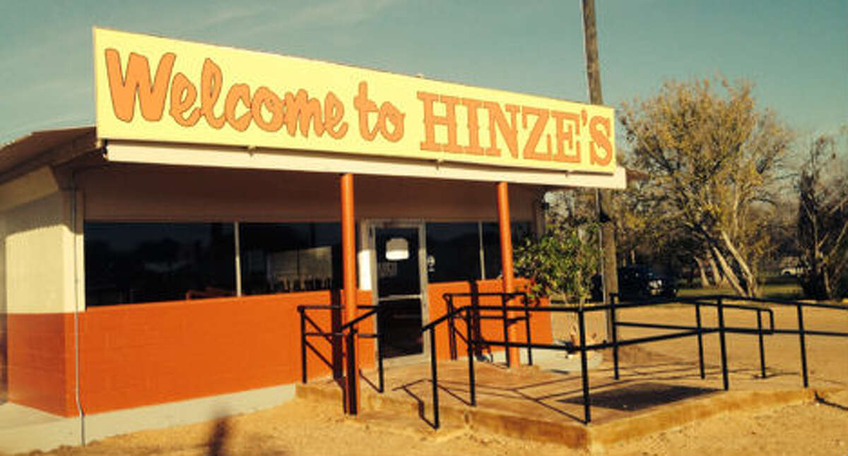 The original Hinze's BBQ in Wharton had been serving barbecue and other goodies for more than 40 years before an August fire destroyed its historic location. They have now moved into temporary digs in the middle of Wharton and pressed on into the meat game. (Photo:Hinze's BBQ)