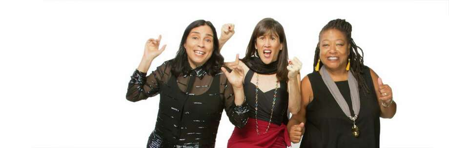 Comedians Marga Gomez, Betsy Salkind and Diane Amos headline a benefit for San Francisco's Brava Theater on New Year's Eve. Photo: David Wilson / ONLINE_YES