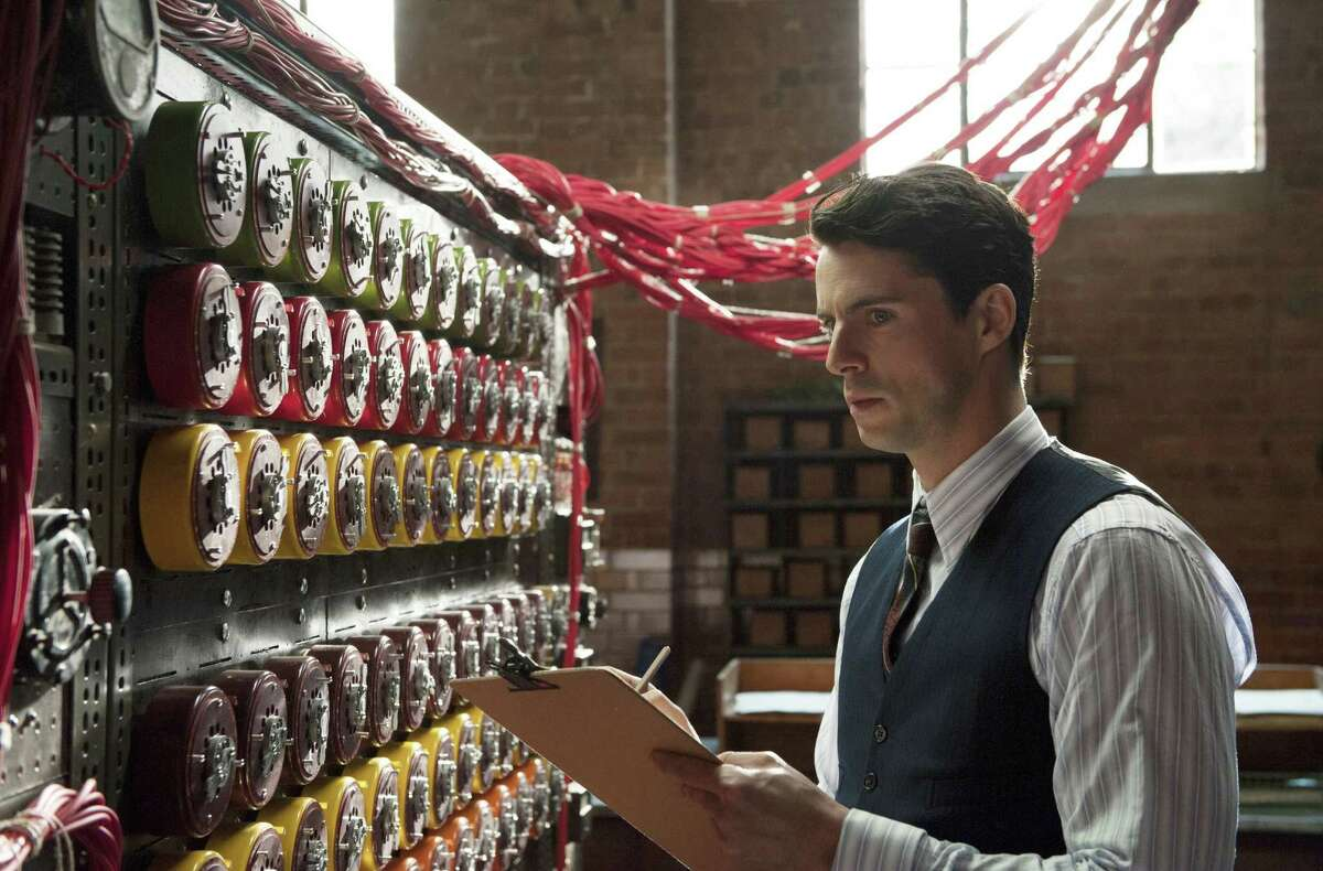 Matthew Goode plays a mathematician working to break a German code in