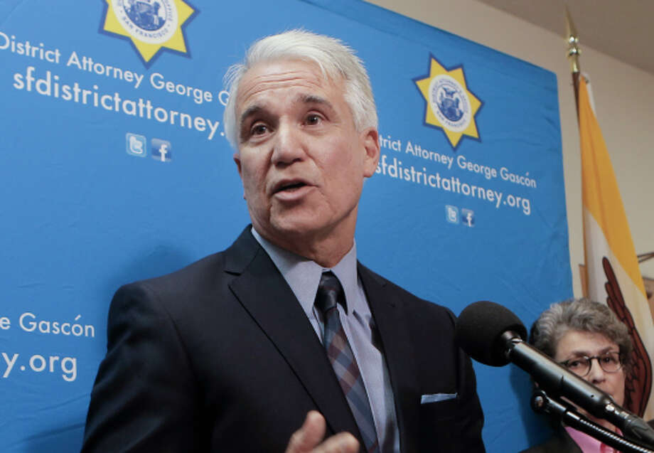 S.F. District Attorney George Gascón announces the consumer protection lawsuit filed against Uber. Photo: Michael Macor / The Chronicle / ONLINE_YES