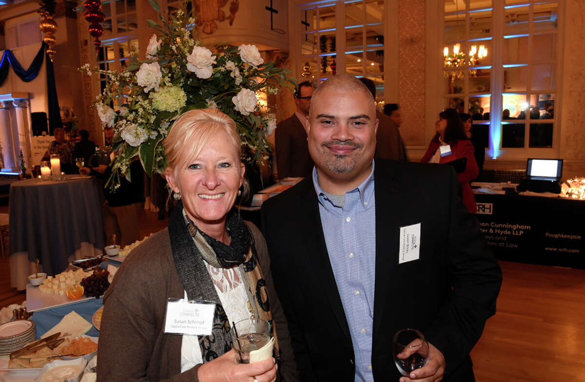 Were you Seen at the Hixny Connects 2014 holiday gathering of healthcare professionals and business leaders at Franklin Plaza in Troy on Tuesday, Dec. 9, 2014?