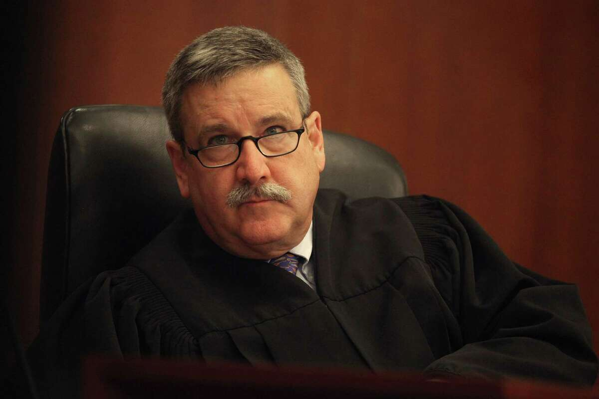 Judge Curtis Karnow listens to final arguments in the City College trial.
