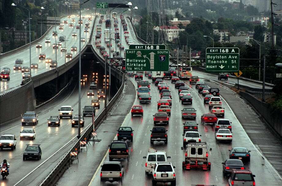 Why is Seattle traffic so bad? Photo: GRANT M. HALLER, P-I File