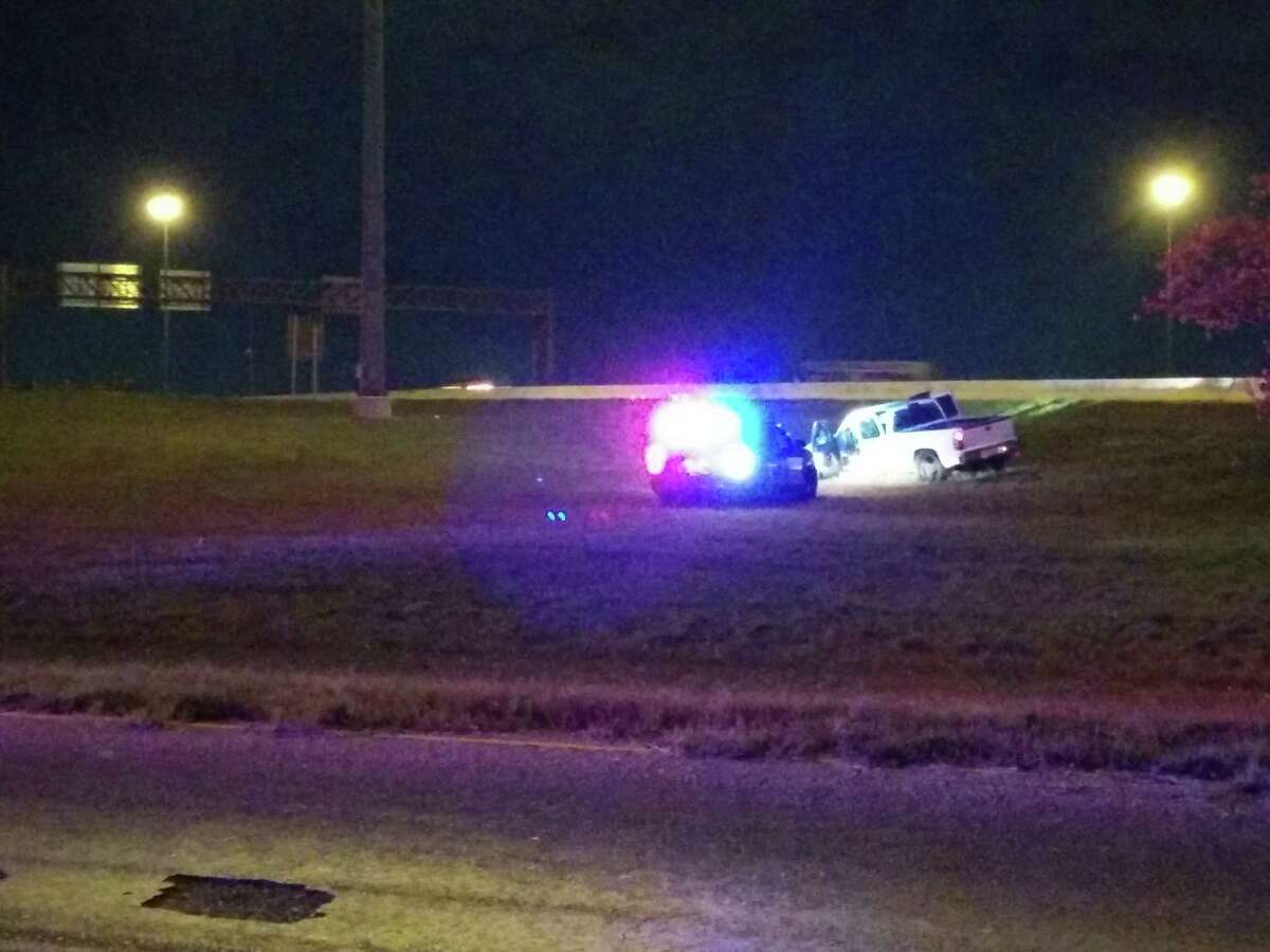 A man fled the scene of a rollover accident after leading officers on a chase Tuesday night on the West Side.