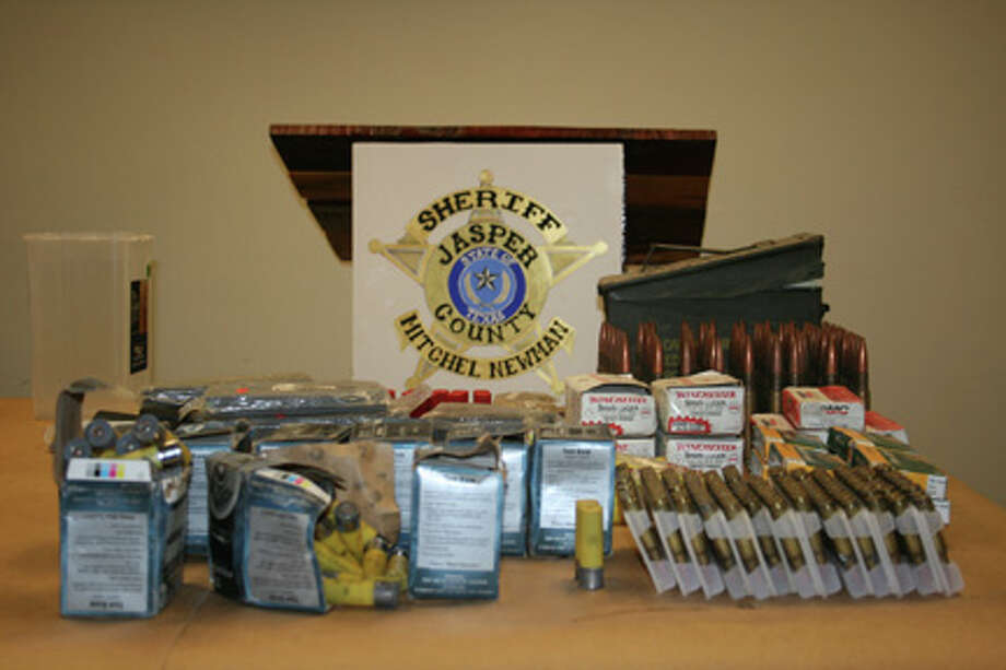 Ammunition revcovered by the Jasper County Sheriff's Office courtesy photo Photo: Unknown