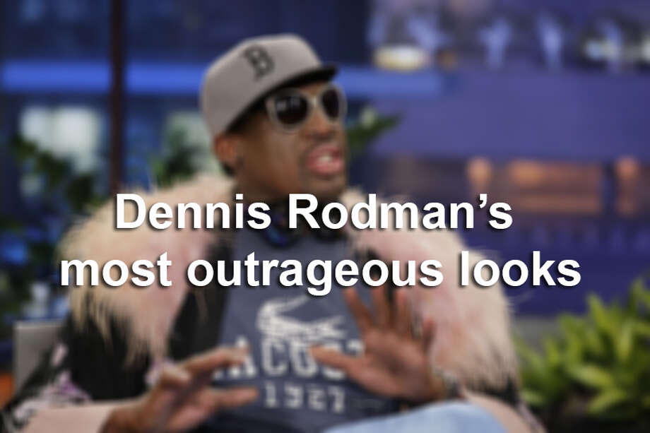 Dennis Rodman's most outrageous look Photo: San Antonio Express-News
