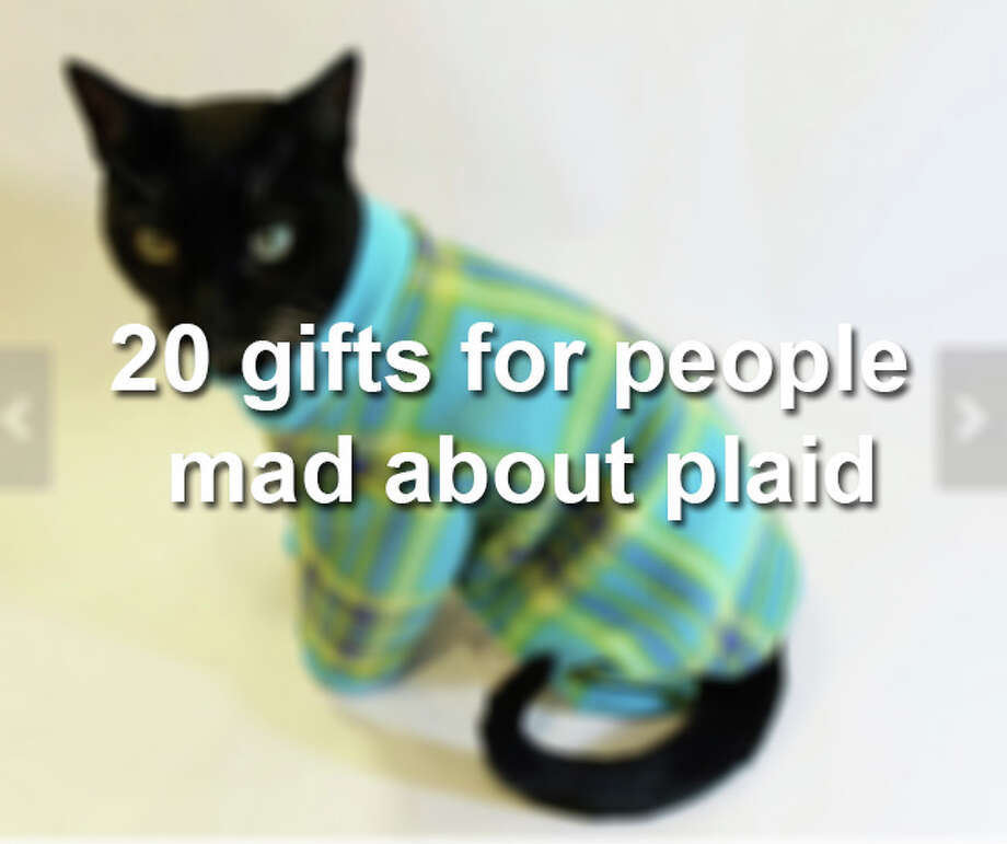 20 gifts for people mad about plaid Photo: San Antonio Express-News