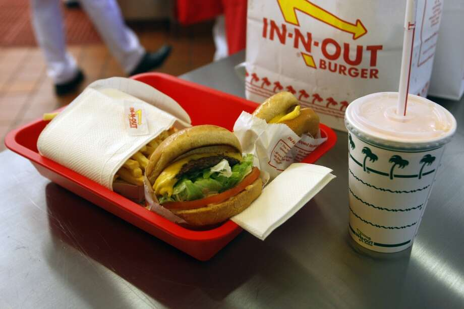 In-N-Out BurgerIt may be from California, but it's worth a stop. The menu is simple, but try a milkshake and order some animal-style fries.   Photo: William Luther, San Antonio Express-News