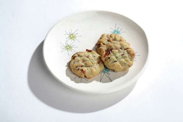 Bacon, Blue Cheese and Pecan Cookies are completely on the savory side. This recipe is from Sips & Apps by Kathy Casey. (Will Waldron/Times Union) Photo: WW / 00029755A