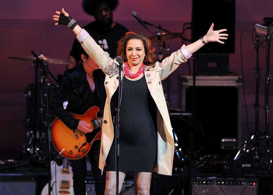 "FILE - This March 7, 2013 file photo shows actress Maya Rudolph performing at ""The Music of Prince"" tribute concert at Carnegie Hall in New York.   NBC says it's weighing bringing back Maya Rudolph's variety show. In May, the actress-comedian starred in ""The Maya Rudolph Show,"" a special that combined comedy and music. NBC executives told a TV critics' meeting Sunday, July 13, 2014, that they're in discussions with the actress-comedian about what the program would look like if it returned. They are looking for a format that would put Rudolph on the air on a regular or occasional basis. (Photo by Evan Agostini/Invision/AP) Photo: Evan Agostini, Associated Press"