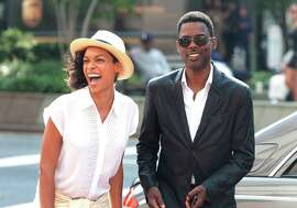 "Rosario Dawson and Chris Rock in ""Top Five,"" from Paramount Pictures and IAC Films."