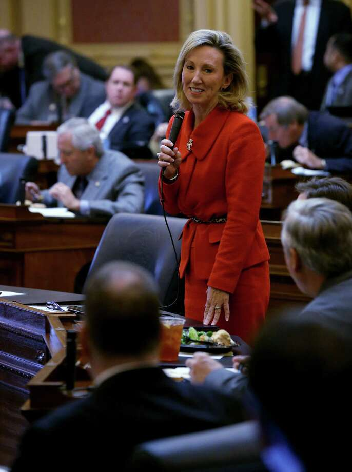 Rep.-elect Barbara Comstock, R-Va., was elected to Congress this year despite being a pro-life woman in a world dominated by feminist politics that hinge on support for reproductive choice. Photo: BOB BROWN / BOB BROWN / Associated Press / Richmond Times-Dispatch