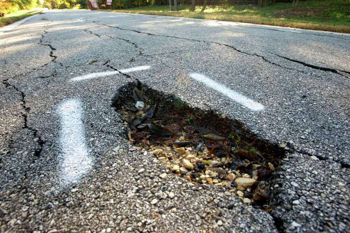 Bulverde Road Potholes repaired in fiscal year 2018: 412