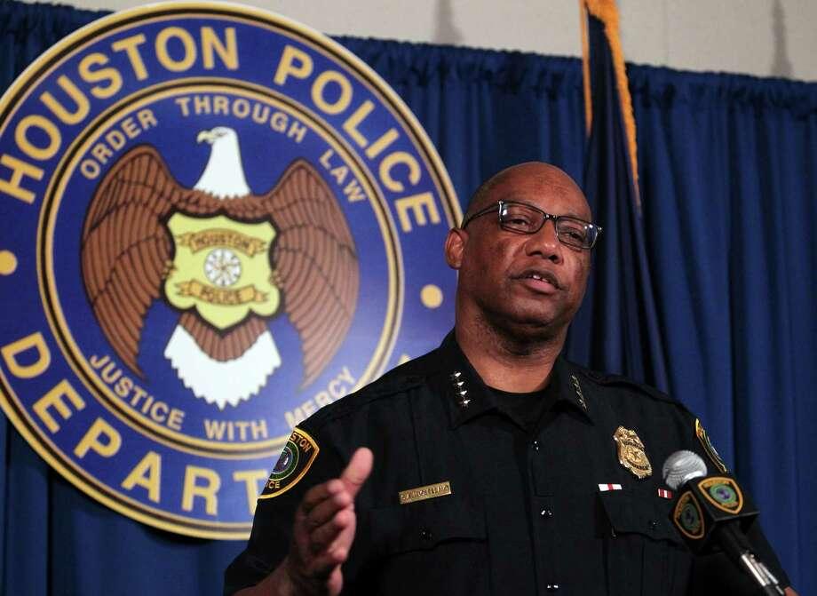 Houston Police Chief Charles A. McClelland. (Billy Smith II / Houston Chronicle) Photo: Billy Smith II, Staff / © 2014 Houston Chronicle