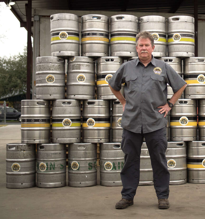 Live Oak Brewing Co. founder Chip McElroy of Austin is one of the plaintiffs in a lawsuit against the state over a 2013 law that he says unfairly favors distributors.Keep going to see some of the beers you may not have known are owned by the biggest names in booze.  Photo: Institute For Justice