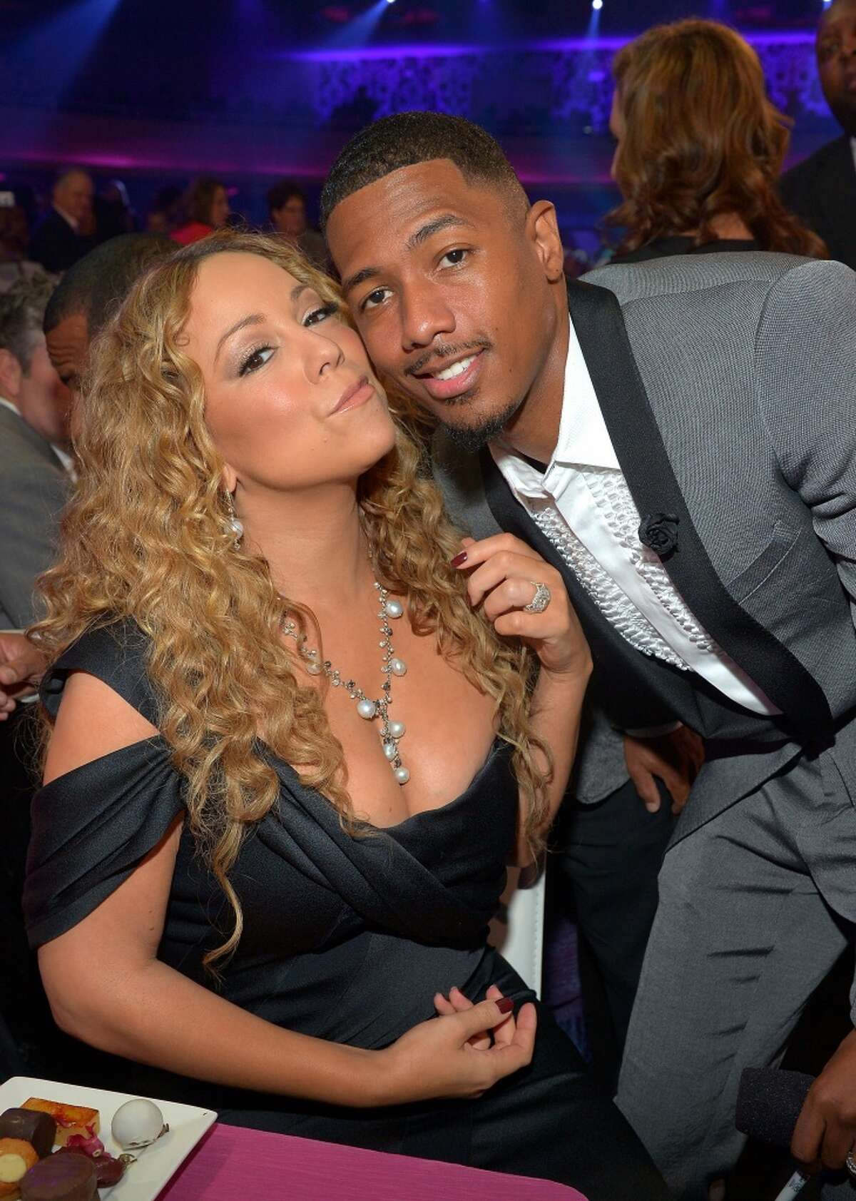 Mariah Carey and Nick Cannon had twins Moroccan and Monroe in 2011. The parents have since split.