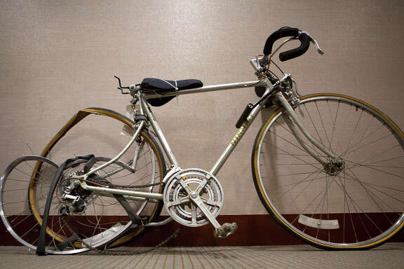 Chelsea Norman's bicycle was among the evidence presented against Margaret Mayer, who was convicted in Norman's hit-and-run death last December.