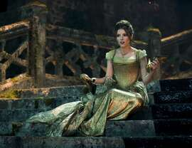 "Anna Kendrick plays Cinderella in ""Into the Woods,"" a fairy-tale mashup based on the 1987 Stephen Sondheim musical. The movie opens Christmas Day."