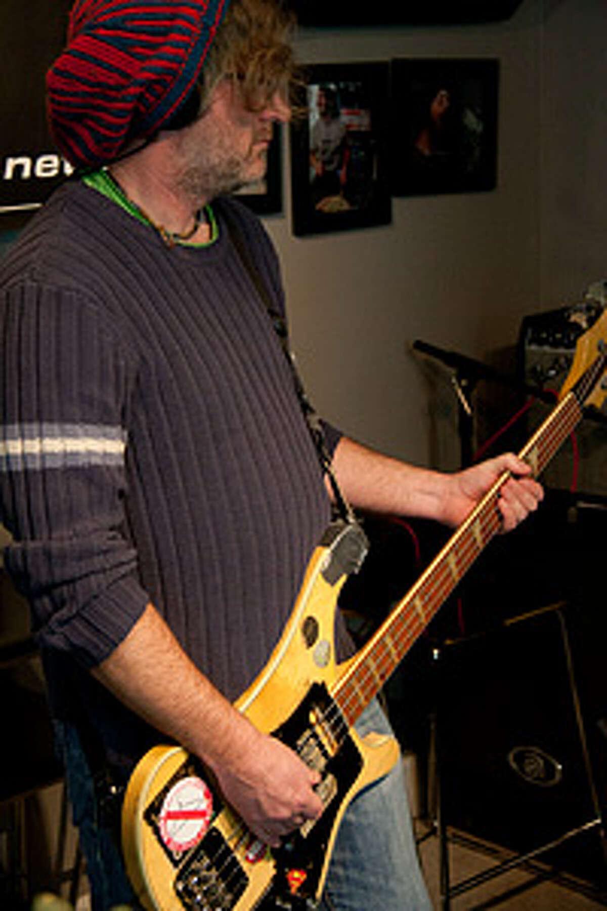Mike Grundy - bass