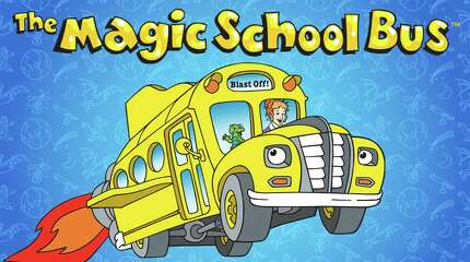 Magic School Bus, 1994. Join Ms. Frizzle as the Magic School Bus travels to outer space, under the sea, through an anthill — and even inside the human body!Find it on  Netflix