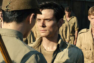"In ""Unbroken,"" Jack O'Connell portrays Olympian and war hero Louis ""Louie"" Zamperini."