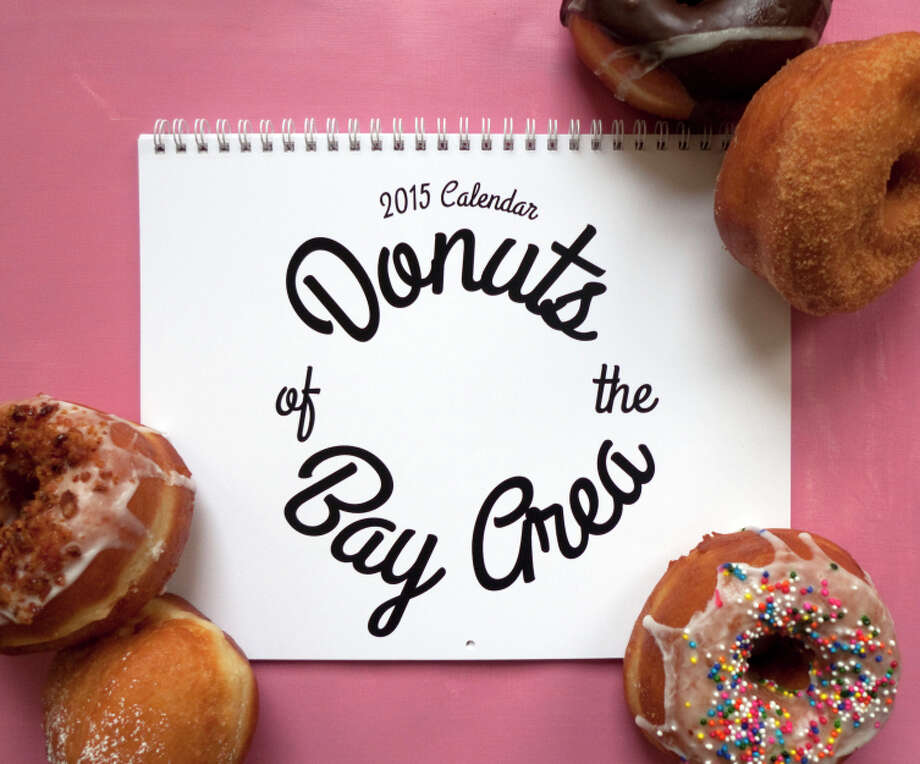 2015 Donuts of the Bay Area calendar by San Francisco illustrator April Waters. Photo: April Waters / ONLINE_YES