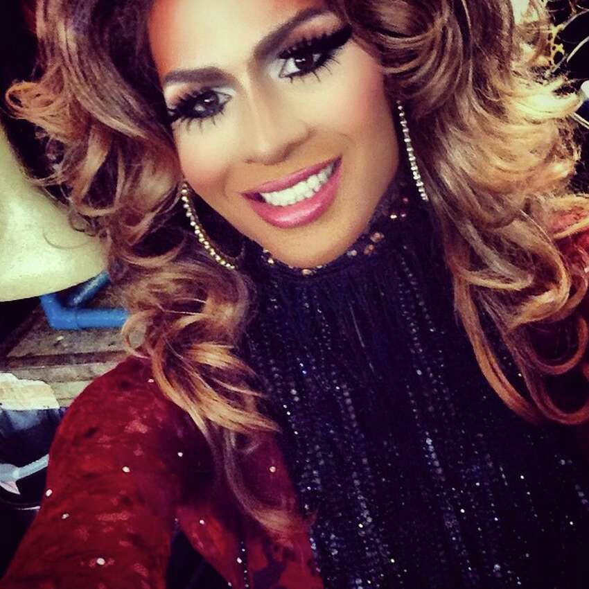 Chloe Crawford Stunningly gorgeous and can be seen Tuesdays and Sundays at JR's in Montrose and at various hotspots throughout the weekend. Keep clicking to see other queens who could slay on 'RuPaul's Drag Race'