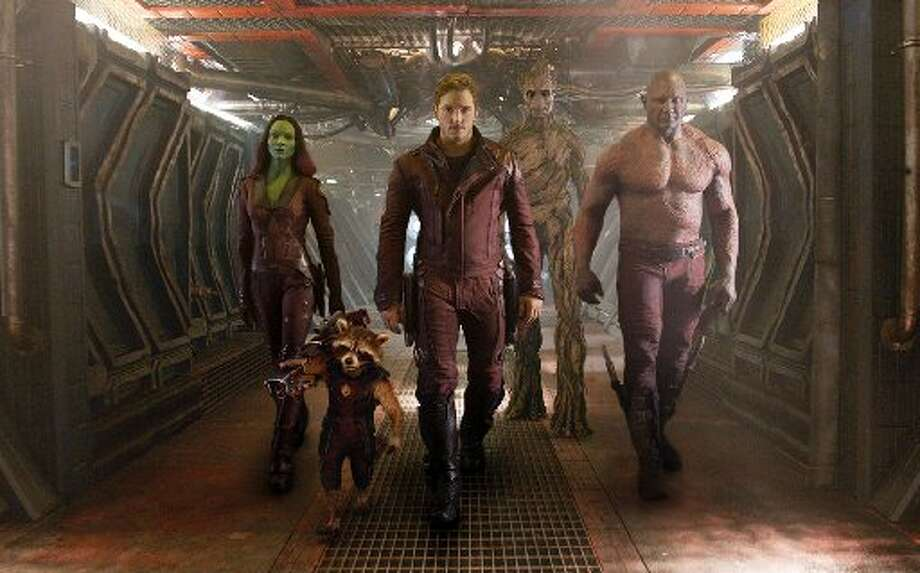 """1. """"Guardians of the Galaxy"""" – Total Gross: $332,226,145 Photo: File Photo"""