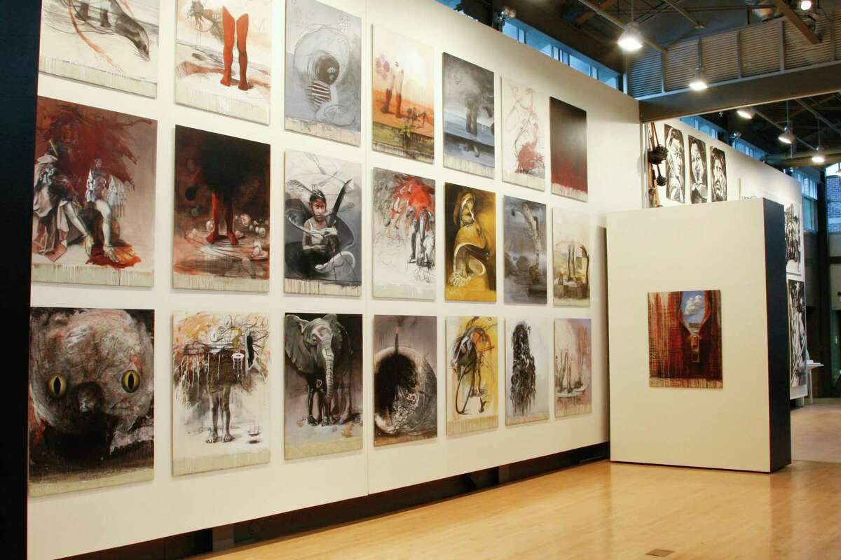 (Courtesy The Opalka Gallery at the Sage College of Albany) Gallery shot of the show