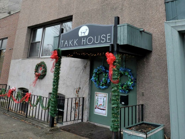 A view of the Takk House on Tuesday, Dec. 9, 2014, in Troy, N.Y.  (Paul Buckowski / Times Union) Photo: Paul Buckowski / 00029736A