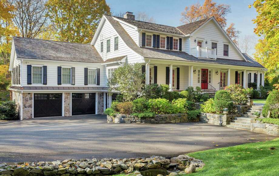 The property at 8 Delafield Island Road is on the market for $2,795,000. Photo: Contributed Photo / Darien News