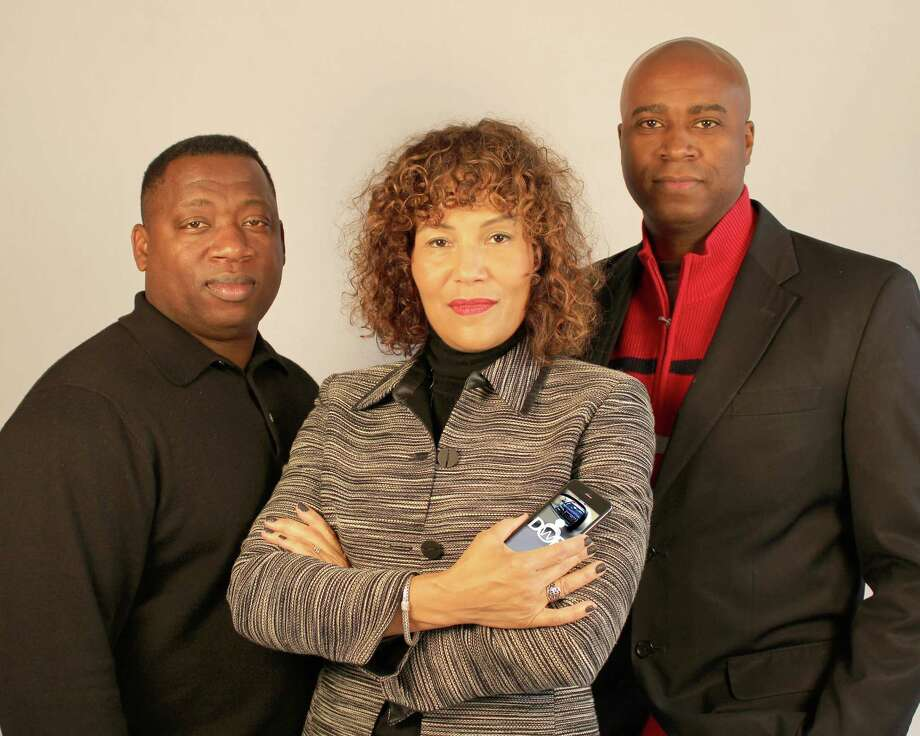 Software developer James Pritchett and lawyers Mariann Hyland and Melvin Oden-Orr created the Driving While Black app set for release this month. The free app gives advice on how to safely deal with police during traffic stops. The key, Hyland and Oden-Orr say, is to remain calm. Photo: Uncredited, HONS / DRIVING WHILE BLACK