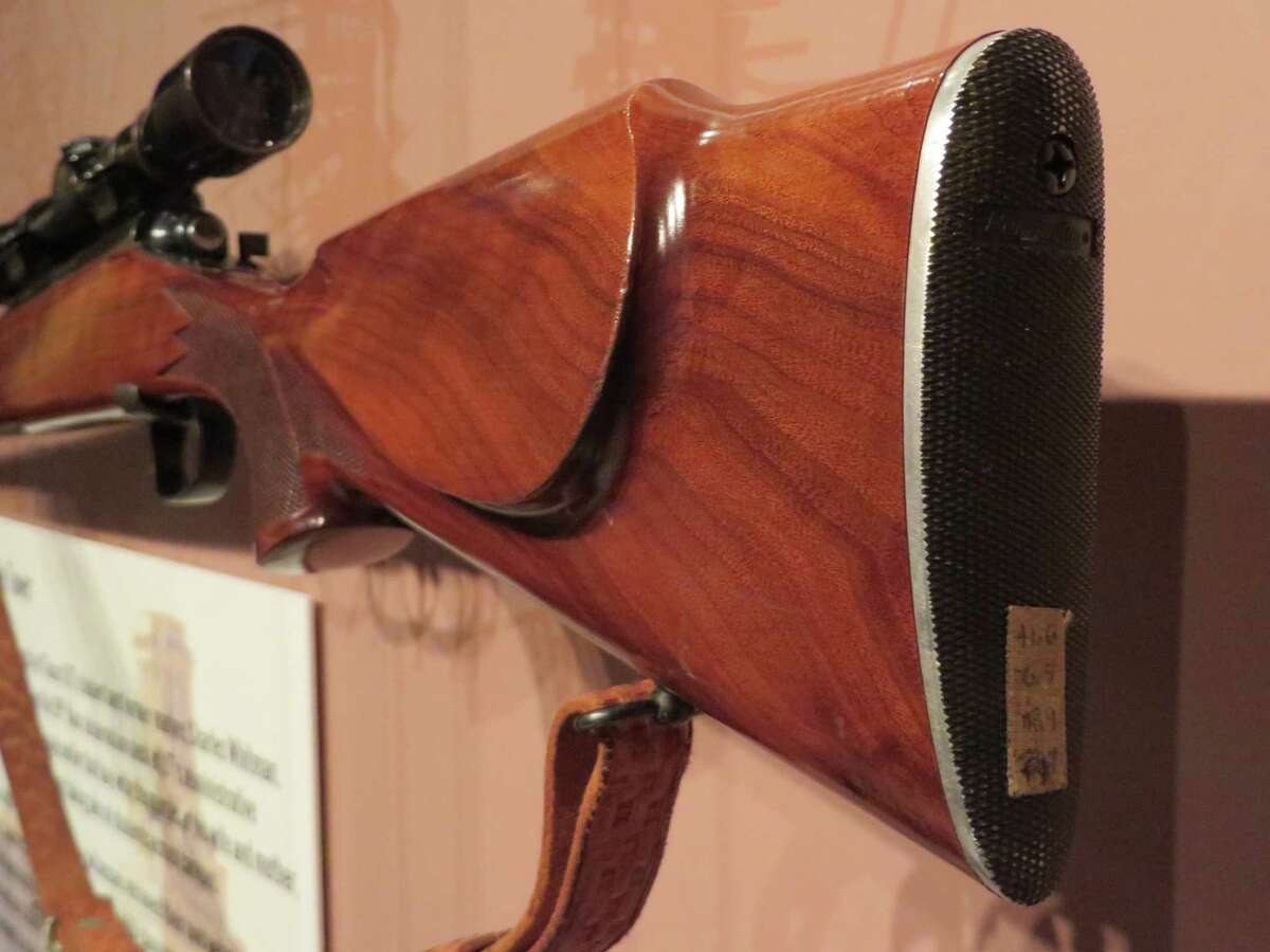 The Remington 700 rifle was used by ex-Marine Charles Whitman during his August 1, 1966 reign of terror from the observation deck at the University of Texas in Austin is now on display at the Crime Museum in the U.S. capitol. It was obtained, the museum said, from a private collector who bought the rifle. The buyer preferred that it not sit in a closet collecting dust and wanted it to be an educational piece. The curators of the museum say that the weapon has been kept in pristine condition. It has been on display for about a week.