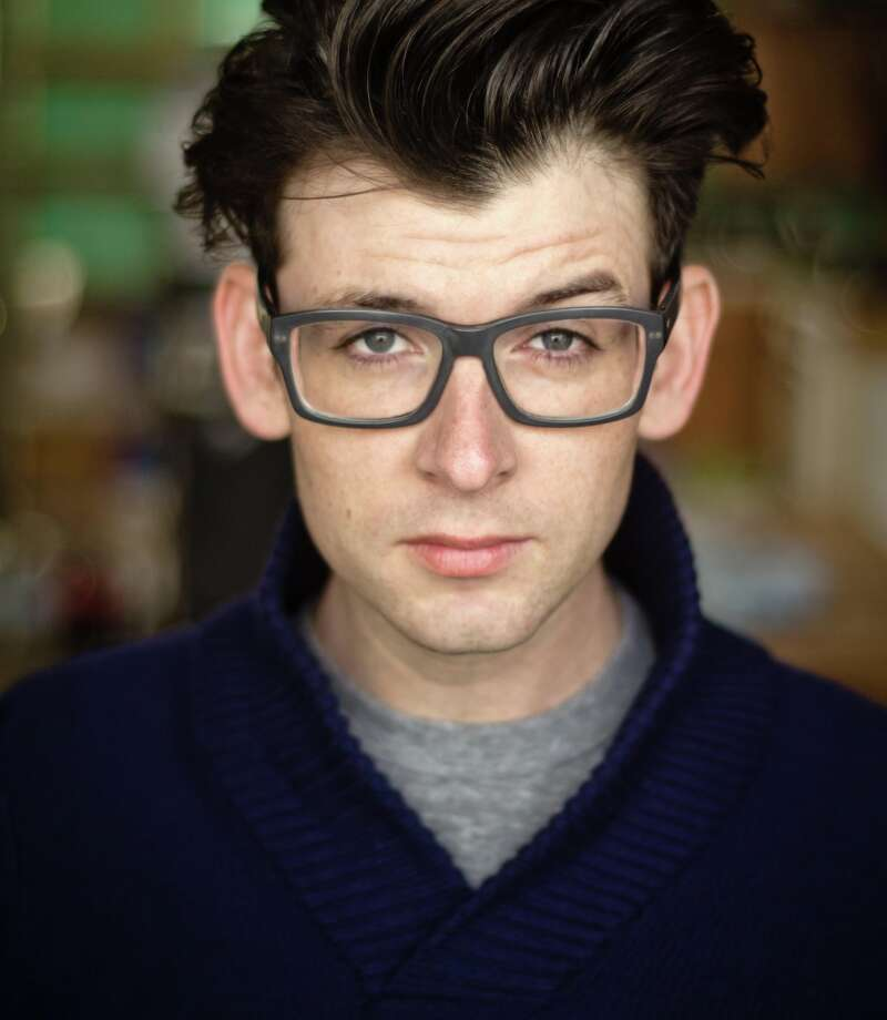 Moshe Kasher will be allowed off the bar stool and onto the stage at the Punch Line this week. Photo: Courtesy Of The Artist / ONLINE_YES
