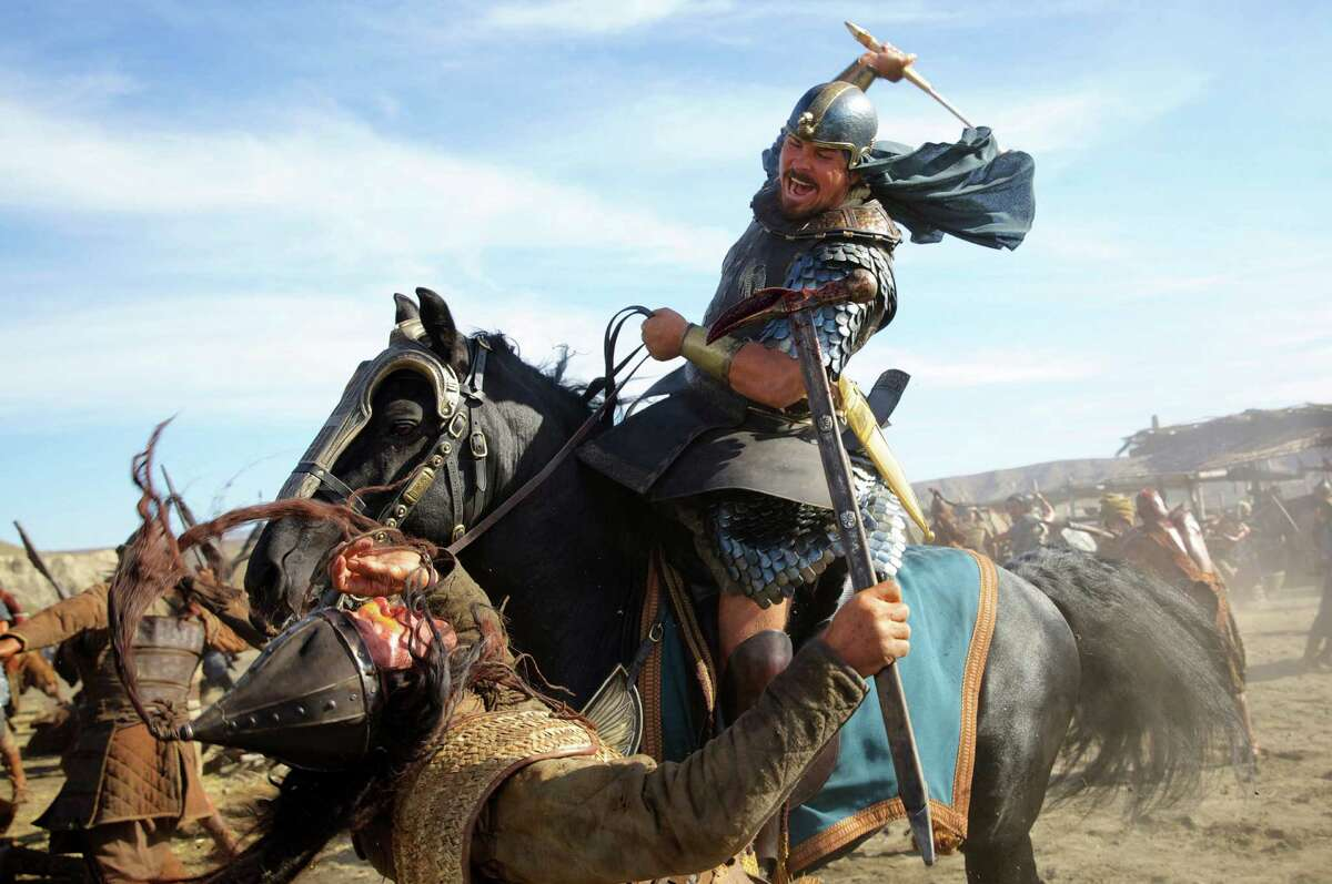 """""""Exodus: Gods and Kings"""" (2014)Total earnings: $268.2 millionStarring: Christian Bale, Aaron Paul Plot: Bale plays a hard-hitting Moses in this film, inspired by the biblical tale of Moses leading the Hebrews out of Egypt."""