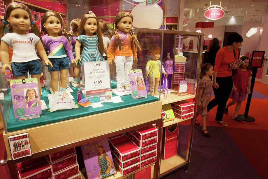 The National Toy Hall of Fame has released a list of 12 iconic toys up for induction into its hallowed halls.Up for induction are American Girl dolls, Battleship, the coloring book, Jenga, the Playmobil series, puppets, scooter, Super Soaker, Teenage Mutant Ninja Turtles, the spinning top, Twister, and Wiffle Ball. Photo: J. Patric Schneider, Freelance / © 2012 Houston Chronicle