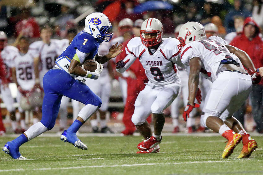 Judson (9-0, 6-0) 30 vs. Clemens (8-1, 6-0) 34 7:30 p.m., Friday, Nov. 8, Lehnhoff Stadium Judson leads series 18-10 Previous meeting: 2018, Judson 49-7 Last win for Clemens: 2003 (26-21)