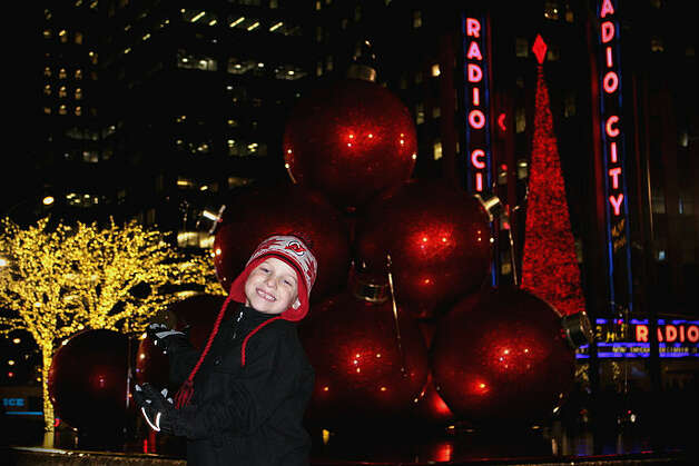 Zach Trippany, age 6, enjoys some time with the family during a trip to the Christmas Spectacular in New York City. (Kelli Trippany)
